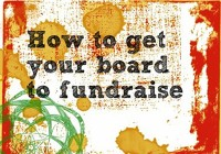 your fundraising board